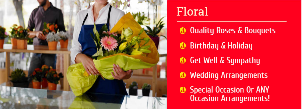Proctor Ace - Department, Floral and Florist Service