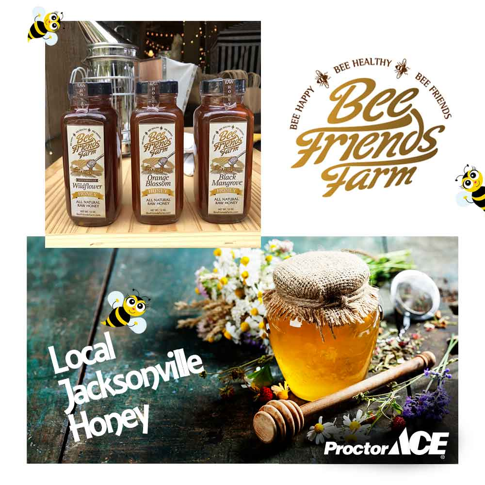Local Jacksonville Honey Bee Friends Farm
